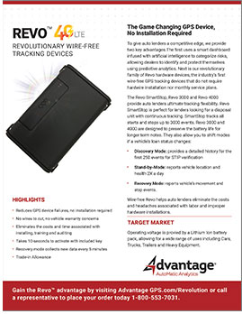 Wireless Revo - Advantage GPS