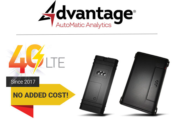 4G LTE Since 2017 - No Extra Cost - Advantage GPS