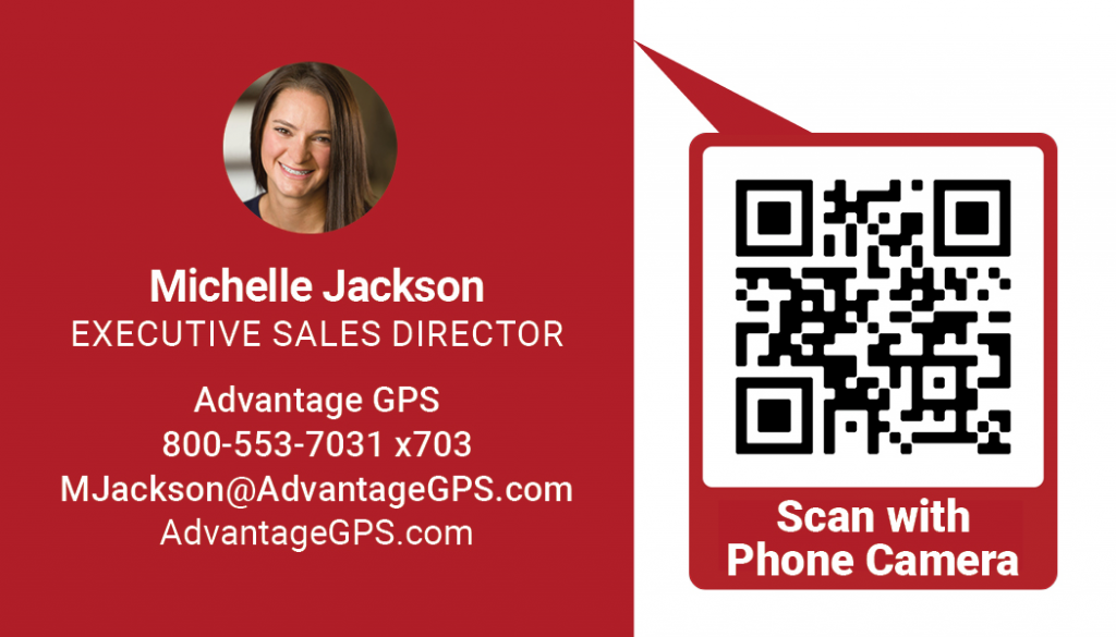 Michelle Jackson - Executive Sales Director - Advantage GPS