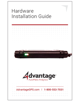 Current Install Guide - Advantage GPS