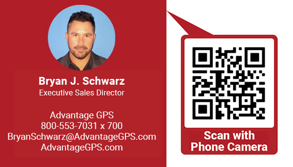 Bryan Schwarz - Executive Sales Director - Advantage GPS