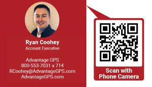 Ryan Coohey, Account Executive - Advantage GPS
