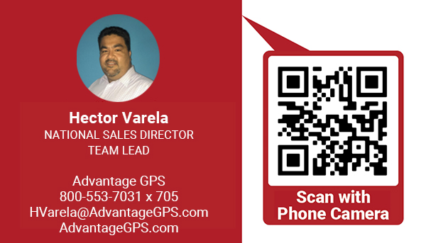 Hector Varela - National Sales Director - Advantage GPS