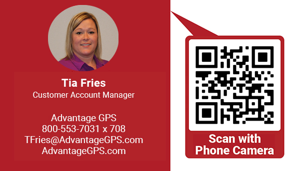 Tia Fries - Customer Account Manager - Advantage GPS
