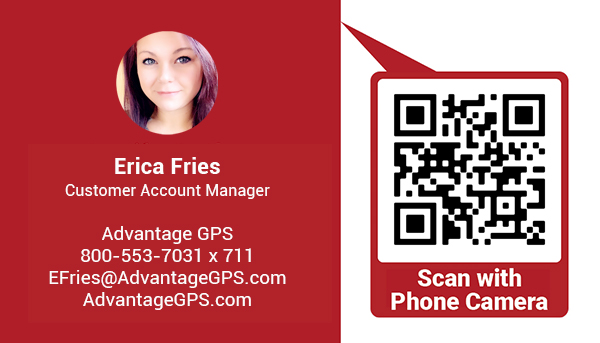 Erica Fries - Customer Account Manager - Advantage GPS