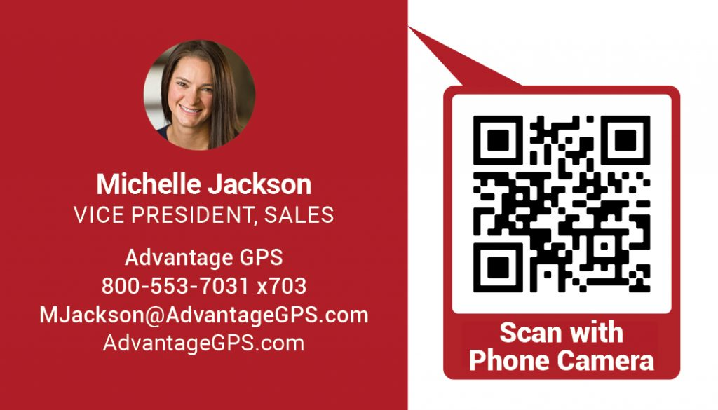 Michelle Jackson - Vice President of Sales - Advantage GPS