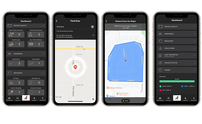 Easy to Use - Mobile App - Advantage GPS
